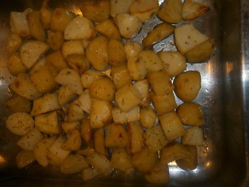 ziemniaki z rozmarynem