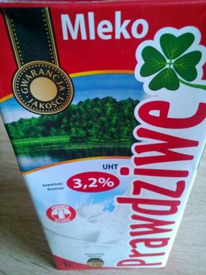 mleko prawdziwe