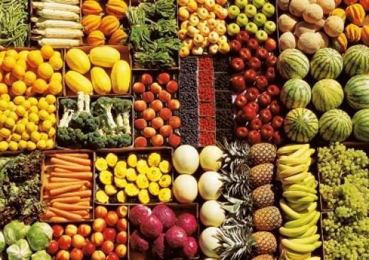 bogactwo warzyw i owoców