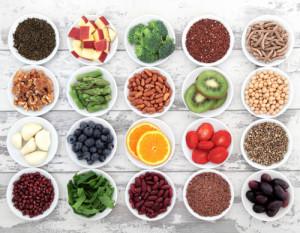 warzywa owoce orzechy pełne ziarno