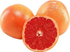 red grapefruit