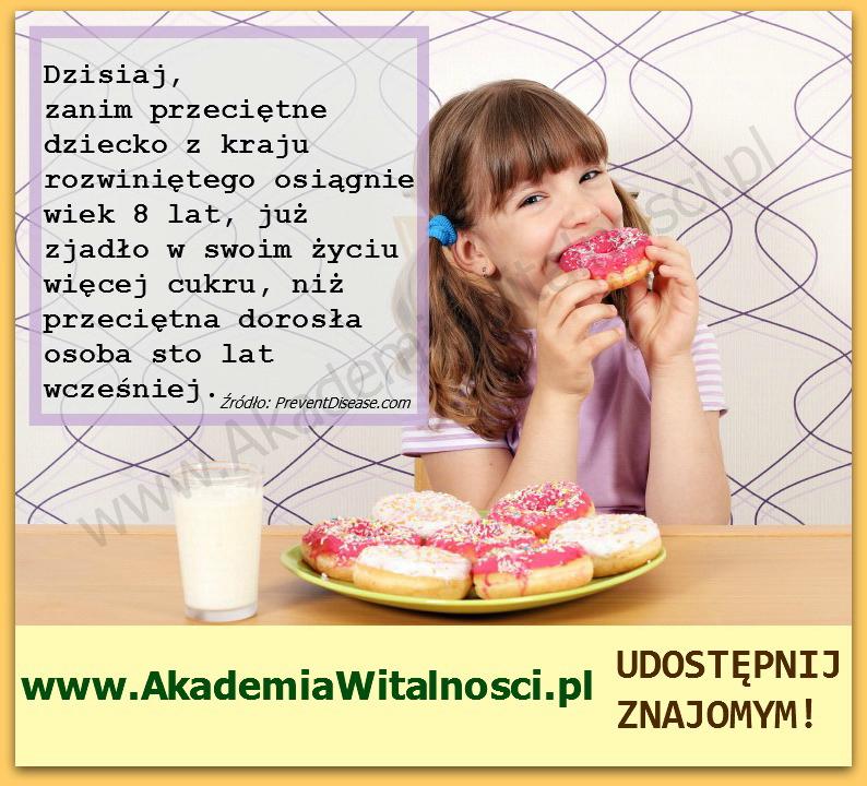 cukier i dzieci