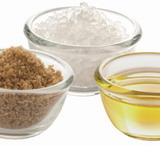 cukier sól i tłuszcz